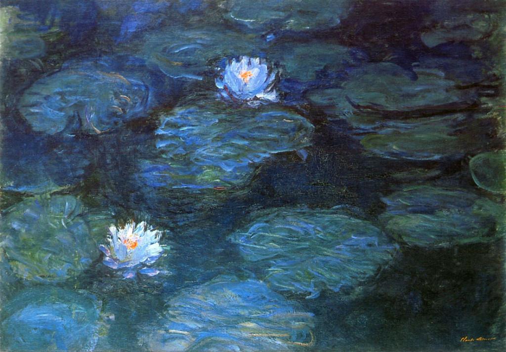 monet water-lilies